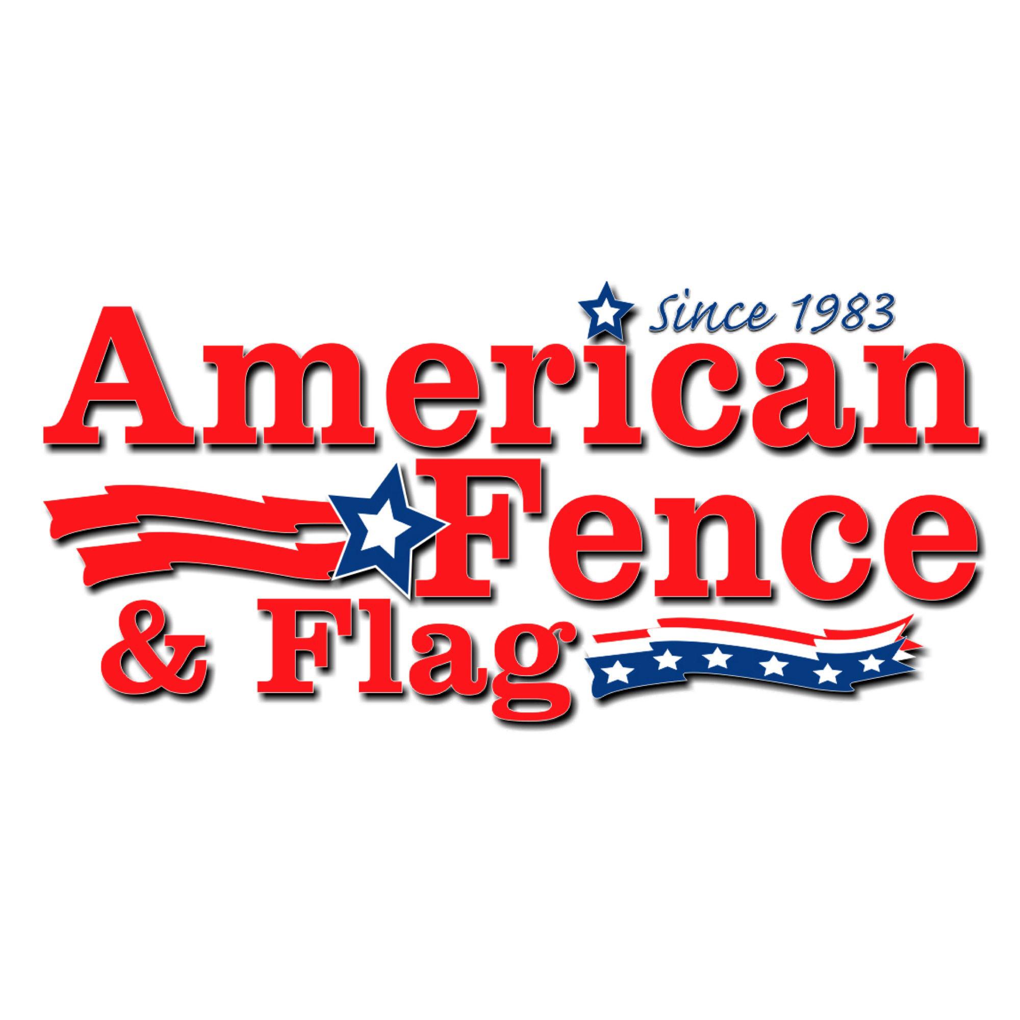 Logo - American Fence Flag